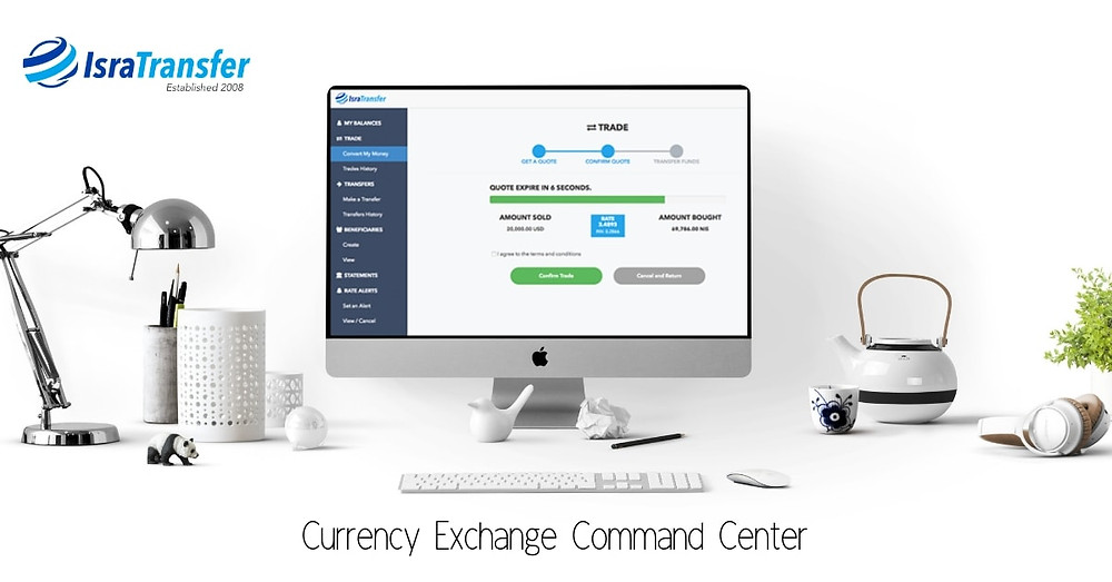 israel online currency transfer exchange