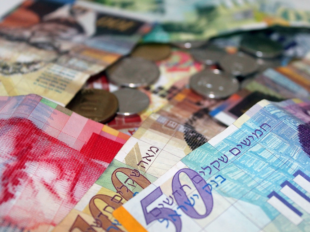 Shekel currency exchange