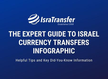 Israel Currency Transfers – The Expert Guide [Infographic]