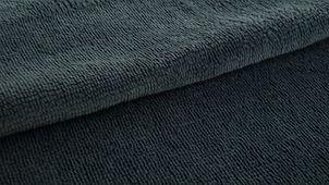 Coton démaquillant lavable bambou gris anthracite