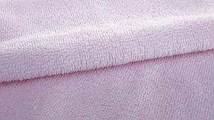 Coton démaquillant lavable bambou rose pâle
