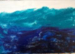 Turquoise Seas - Canvas