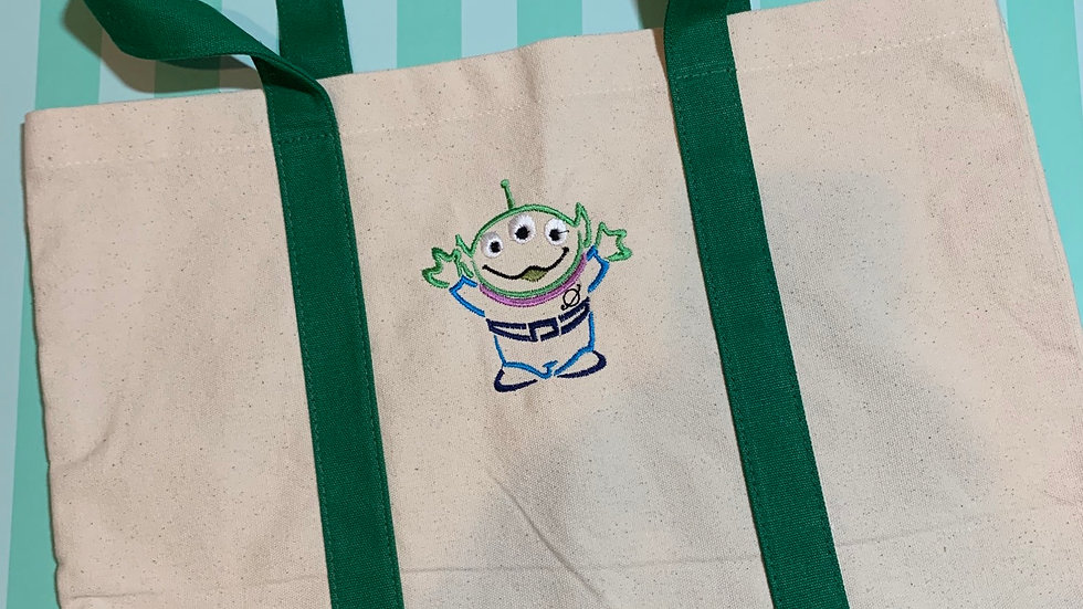 Toy Story Alien pocket tote