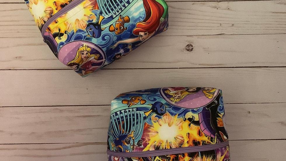 Best of Disney boxy bag or makeup bag
