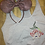 Thumbnail: Ariel embroidered tee shirt or tank