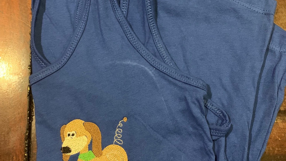 Slinky Dog embroidered tshirt or tank top