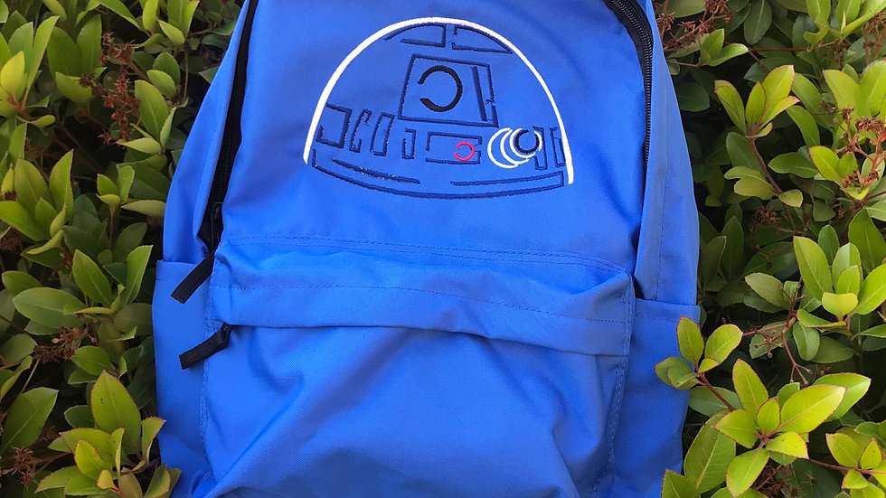R2D2 Embroidered backpack