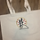 Thumbnail: Jack and Sally Large Canvas Tote