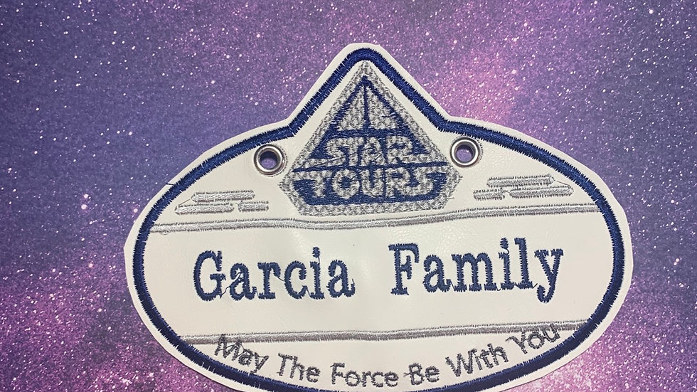 Star Tours Stroller Tag
