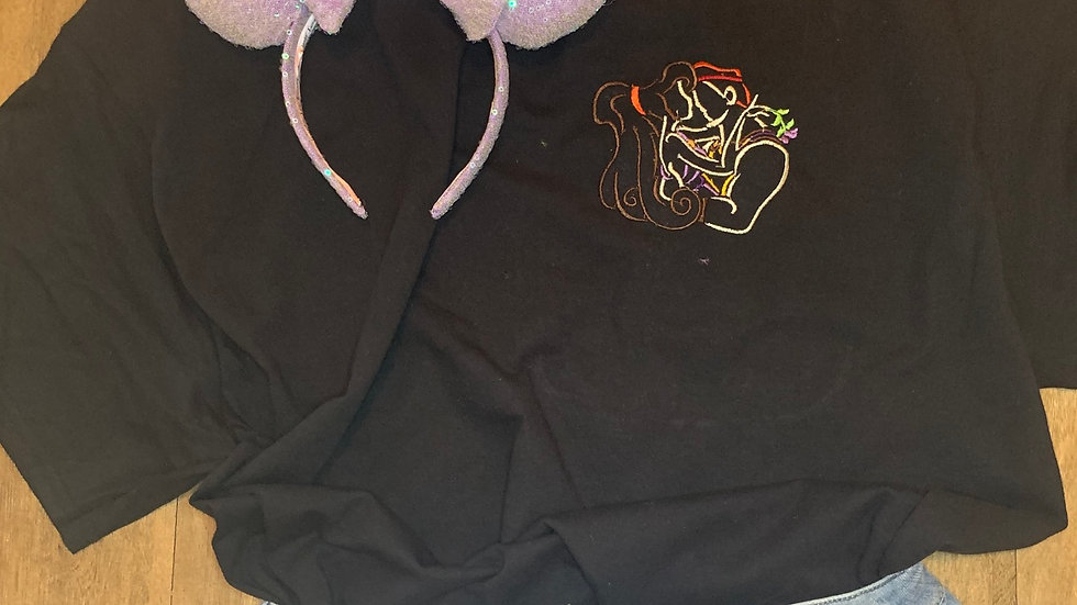 Hercules and Meg embroidered t-shirt or tank