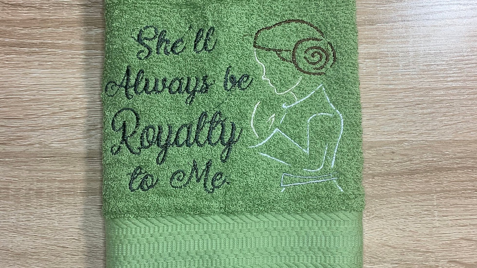 She'll always be royalty to me - Princess Leia towels, makeup bag, tote bag