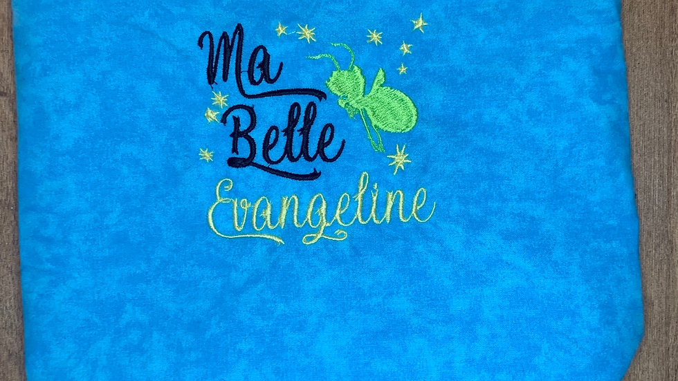 Ma Belle Evangeline - Ray towels, makeup bag, tote