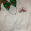 Thumbnail: Merry Christmas Castle embroidered hoodie, pullover, 1/4 zip