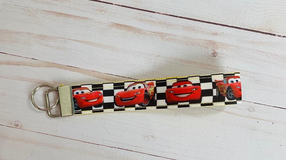 Lightening McQueen keychain wristlet