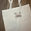 Thumbnail: Chip and Dale embroidered market tote