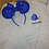 Thumbnail: Dory Easily Distracted embroidered hoodie, pullover, 1/4 zip