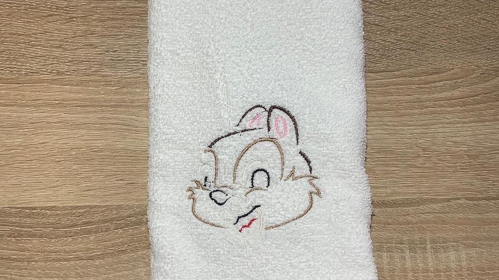 Chip towels, makeup bag, tote