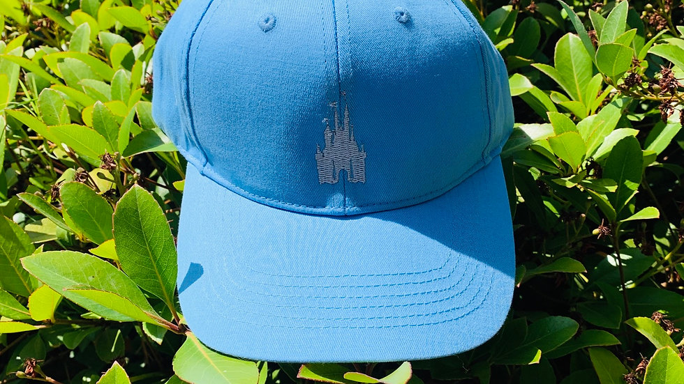 Disney castle embroidered hat