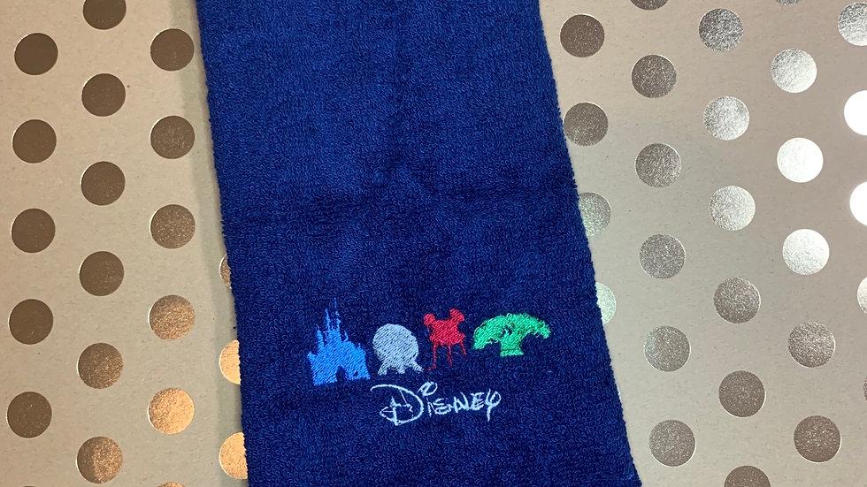 4 Park Icons embroidered towels, blanket, makeup bag