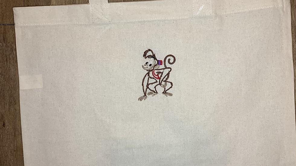 Abu embroidered market tote