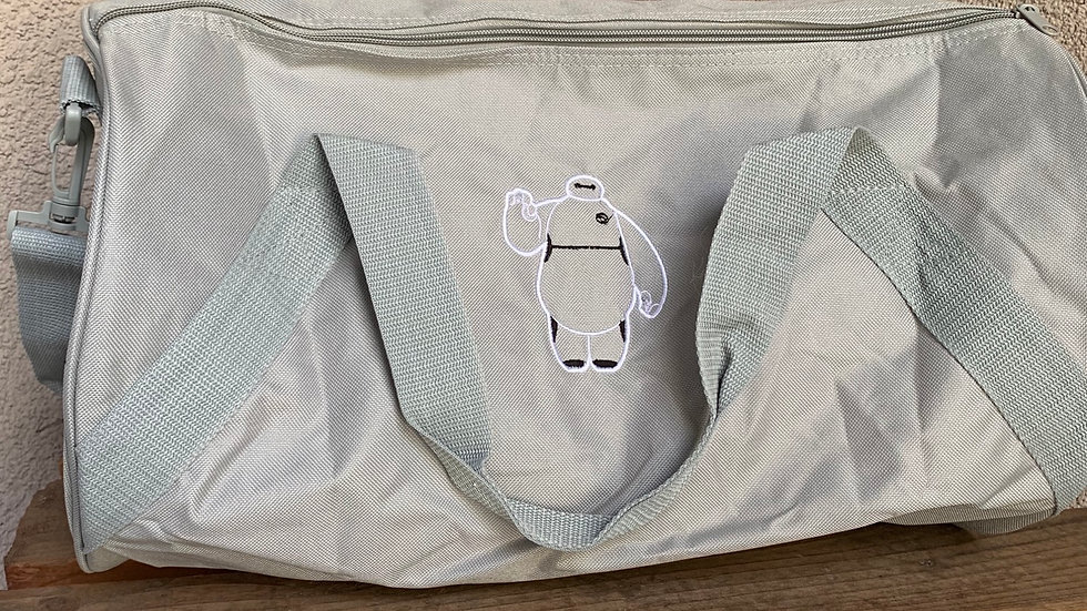 Baymax embroidered duffel bag