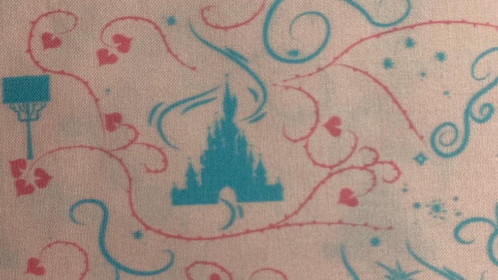 Make it pink make it blue castle preorder boxy bag or makeup bag