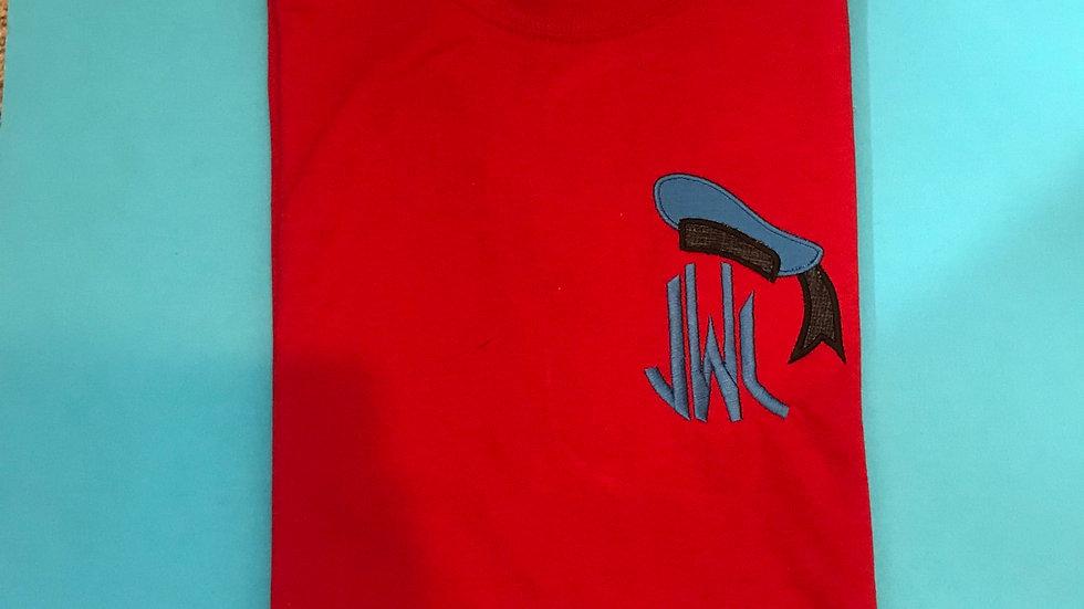 Donald Duck Cap Monogrammed T-shirt/Tank top