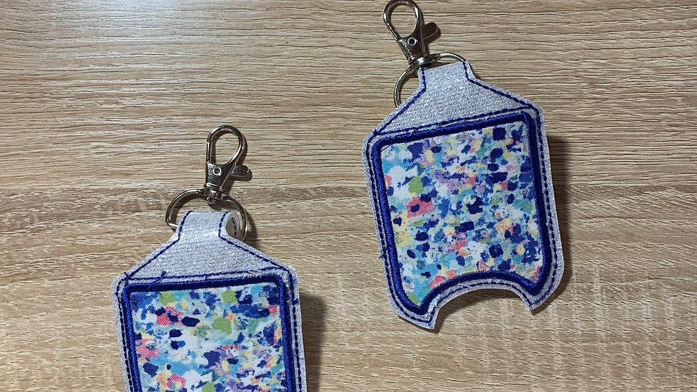 Lily Pulitzer Inspired Hand Sanitizer Holder