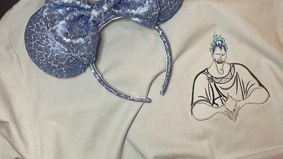 Hades embroidered Tee or Tank Top