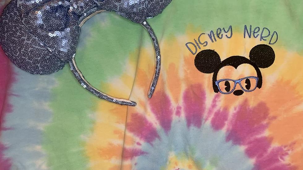 Disney Nerd Tye Dye shirt