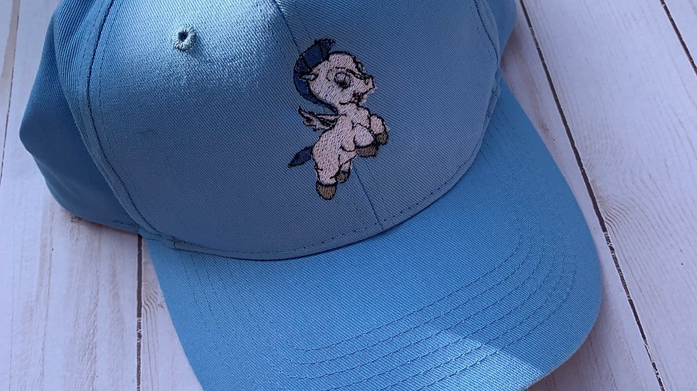Pegasus embroidered hat