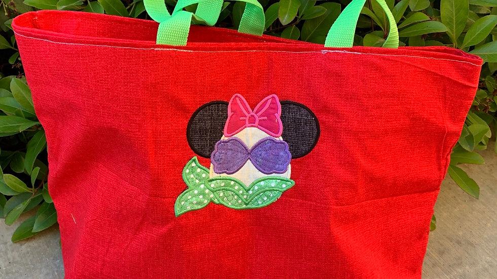 Ariel - little mermaid - tote bag, makeup bag, towel or blanket