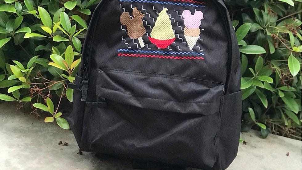 Disney Snack embroidered backpack