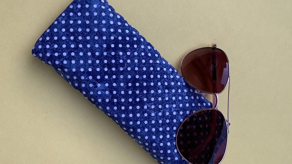 Donald Duck inspired padded sun glass case