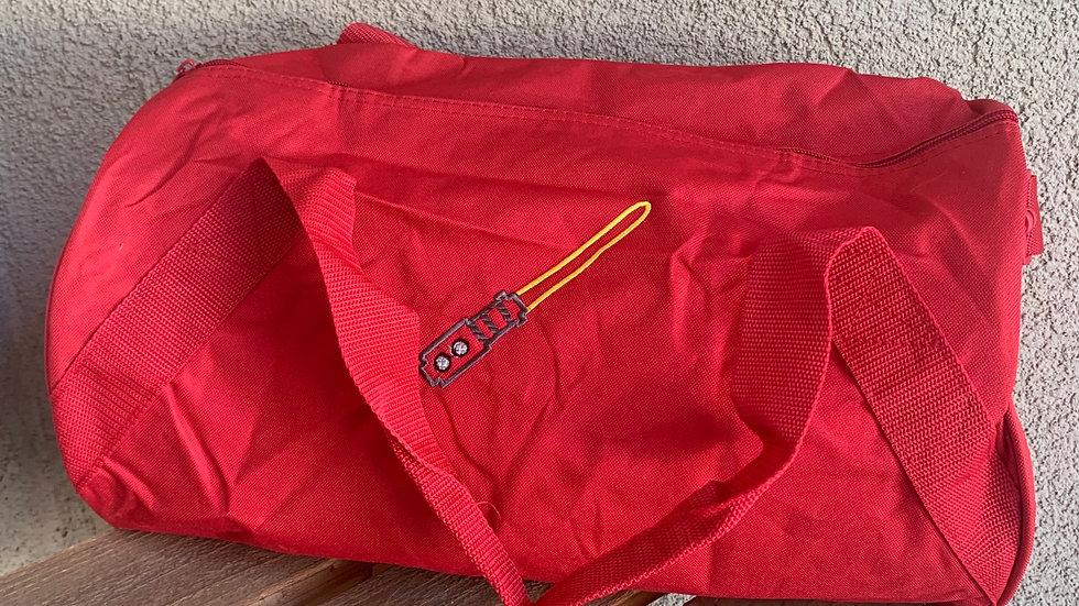 Light Saber embroidered duffel bag