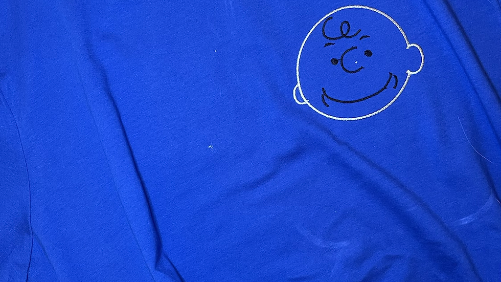 Charlie Brown embroidered Tee or Tank