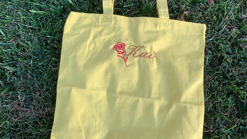 Belle inspired market tote - trick or treat bag