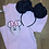 Thumbnail: Masked Up Minnie embroidered t-shirt or tank