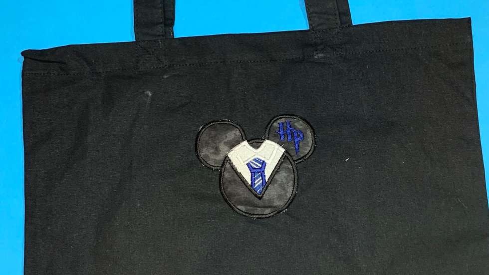HP Mouse embroidered market tote
