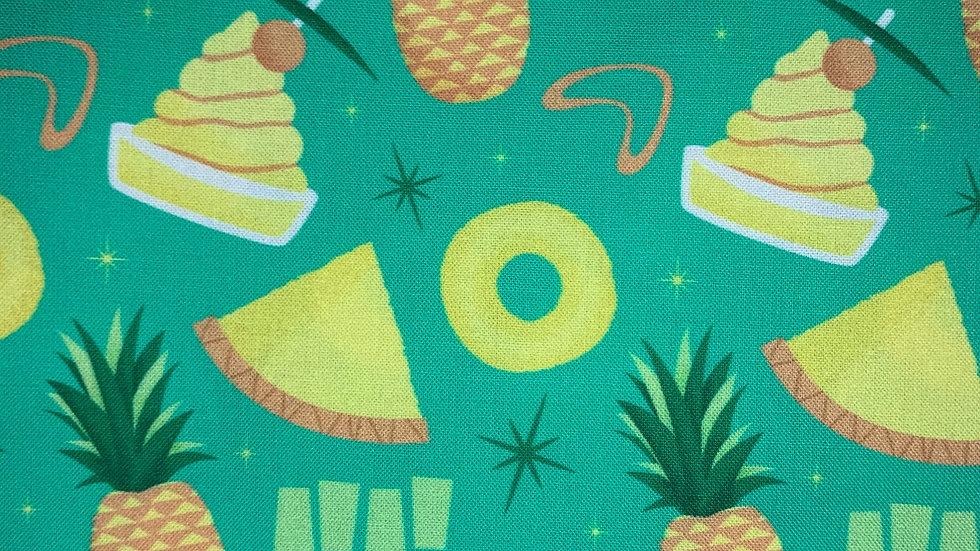 Pineapple Whip boxy bag or makeup bag