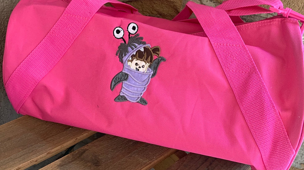 Boo embroidered duffel bag