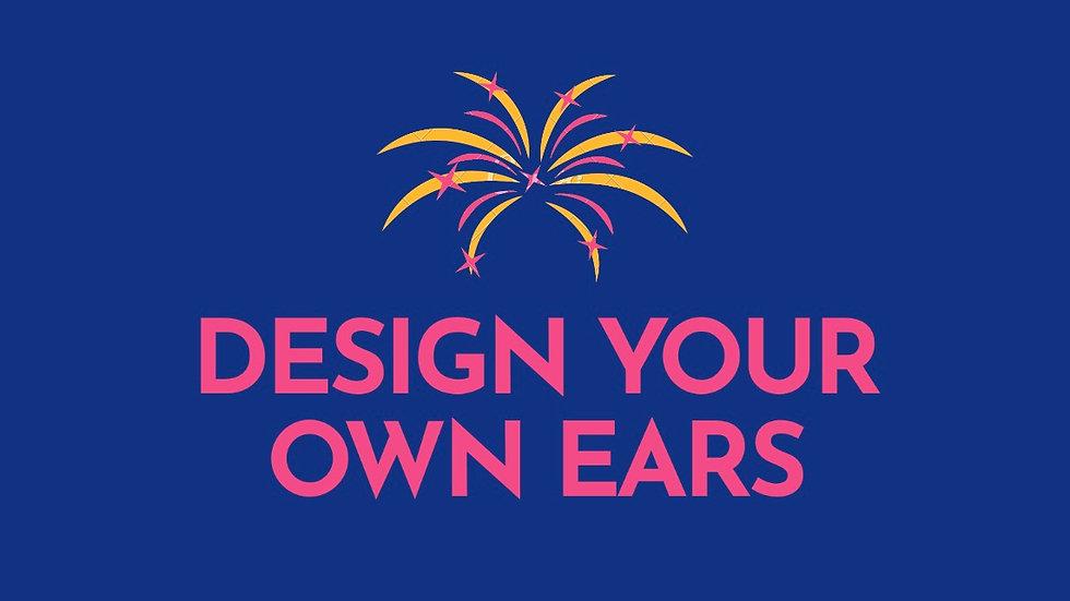 Design your own castle or firework ear