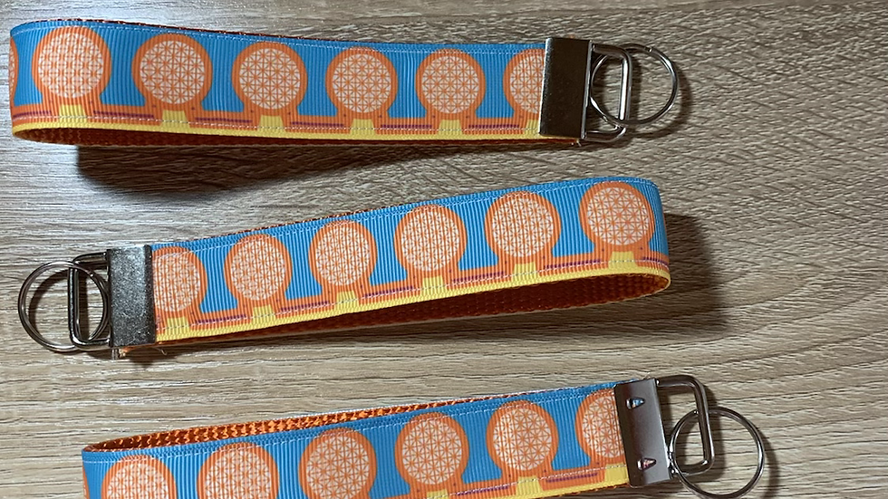 Epcot Center KeyFob Keychain
