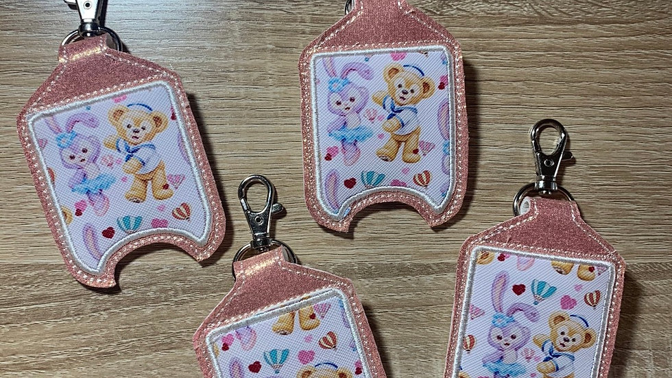 Duffy and Stella Lou Hand Sanitizer Holder