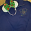 Thumbnail: Mickey Light String - Monogram Optional embroidered hoodie, pullover, 1/4
