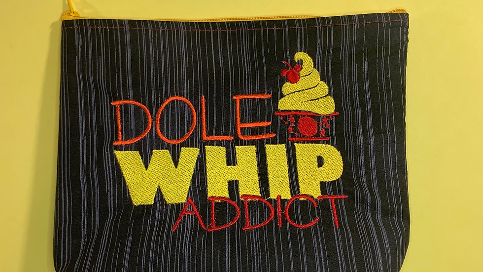 Dole whip addict towels, makeup bag, tote bag, bl
