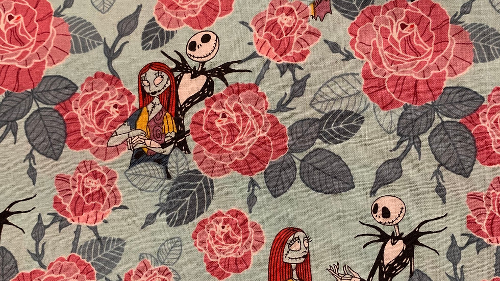 Jack and Sally on teal preorder