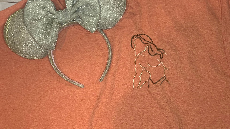 Tarzan embroidered t-shirt or tank top