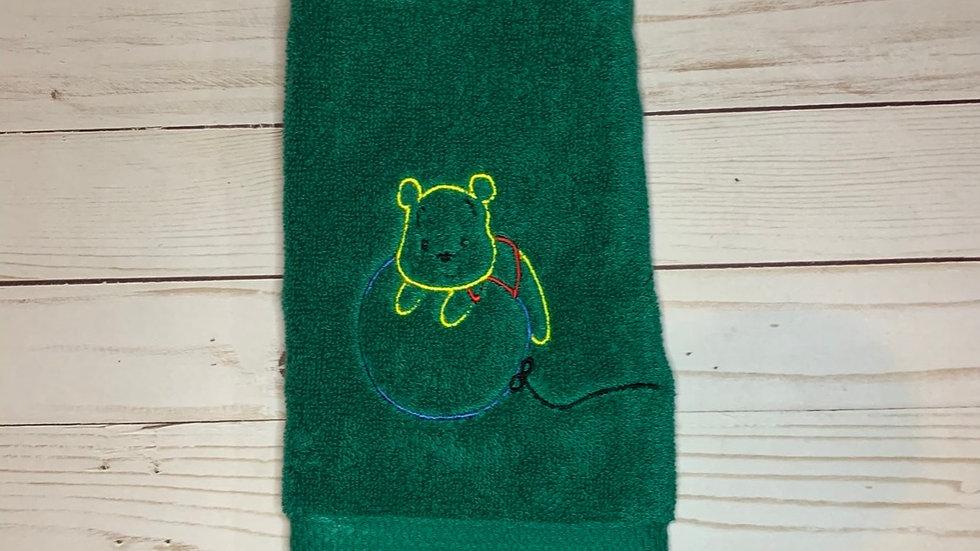 Winnie the Pooh on Balloon towels, makeup bag, tote bag, blanket