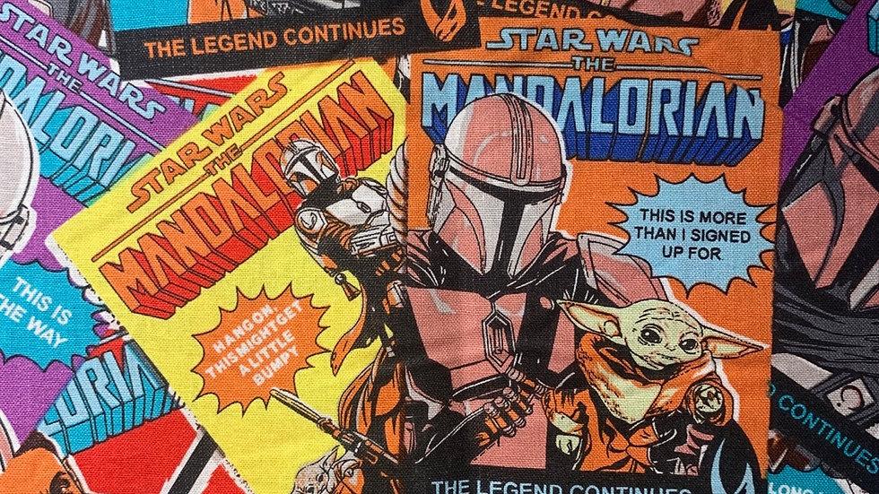 Mandalorian Comics Makeup bag or boxy bag